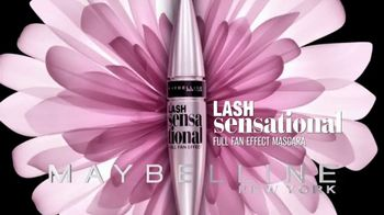 Maybelline New York Lash Sensational TV Spot, 'Layers of Lashes' - Thumbnail 4
