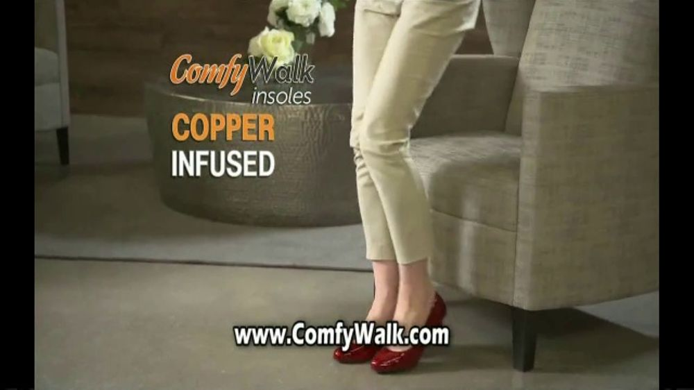Comfy Walk Insoles TV Commercial, 'Block the Shock'