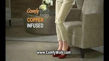 Comfy Walk Insoles TV Spot, 'Block the Shock'