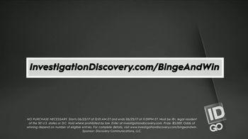 ID GO Binge & Win $5K Giveaway TV Spot, 'It Pays to Watch' - Thumbnail 6