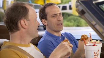 Sonic Drive-In Pretzel Dogs TV Spot, 'Baseball Vendor' - Thumbnail 3
