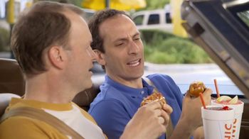 Sonic Drive-In Pretzel Dogs TV Spot, 'Baseball Vendor' - 5672 commercial airings