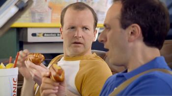 Sonic Drive-In Pretzel Dogs TV Spot, 'Baseball Vendor' - Thumbnail 5