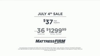 Mattress Firm July 4th Sale TV Spot, 'Serta iComfort TempTouch' - Thumbnail 9