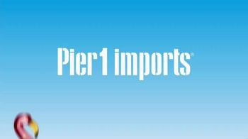 Pier 1 Imports One Big Sale and Clearance TV Spot, 'Happening Now' - Thumbnail 1