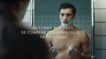 Gillette On Demand TV Spot, 'La forma de ordenar las cuchillas' [Spanish] - Thumbnail 6