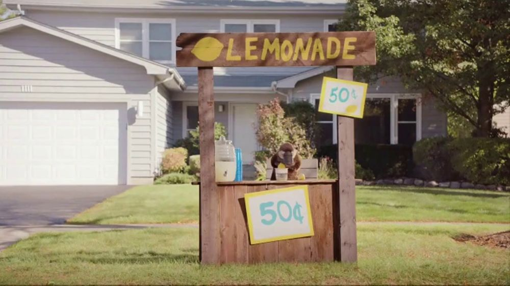 lunchables juice tv commercial lemonade stand ispottv