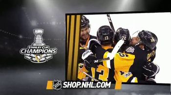 NHL Shop TV Spot, '2017 Stanley Cup Champions Gear' - 393 commercial airings