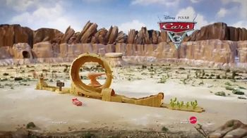 Disney Pixar Cars 3 Willy's Butte Transforming Track Set TV Spot, 'Loop' - Thumbnail 6