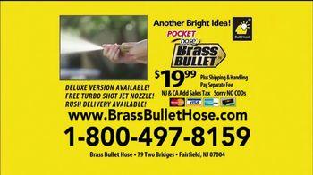 Pocket Hose Brass Bullet TV Spot, 'Super Hose' Featuring Richard Karn - Thumbnail 8