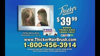 Thicker Hairbrush TV Spot, 'From Thinner to Thicker' - Thumbnail 5