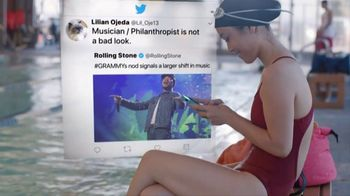 Twitter TV Spot, 'Music Is Happening' Feat. Chance the Rapper, David Crosby - Thumbnail 8