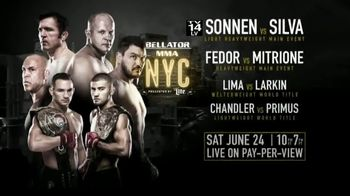 XFINITY On Demand TV Spot, 'Bellator NYC: Sonnen vs. Silva' - Thumbnail 6