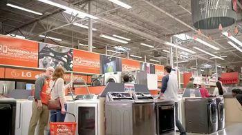 The Home Depot Red, White & Blue Savings TV Spot, 'Laundry Upgrade: LG' - Thumbnail 1