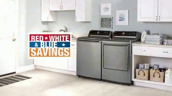 The Home Depot Red, White & Blue Savings TV Spot, 'Laundry Upgrade: LG' - Thumbnail 7