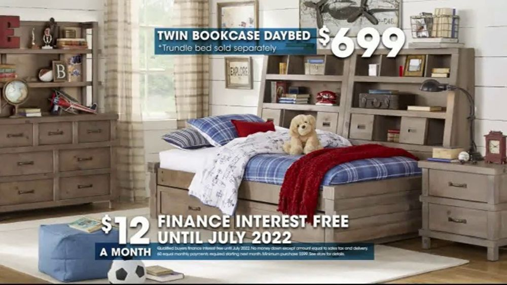 Rooms To Go Tv Commercial Hot Buy Twin Bookcase Daybed Video