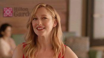 Hilton Garden Inn TV Spot, 'Story of How We Met' Featuring Judy Greer