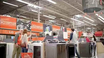 The Home Depot Red, White & Blue Savings TV Spot, 'Samsung Kitchen Suite' - Thumbnail 1