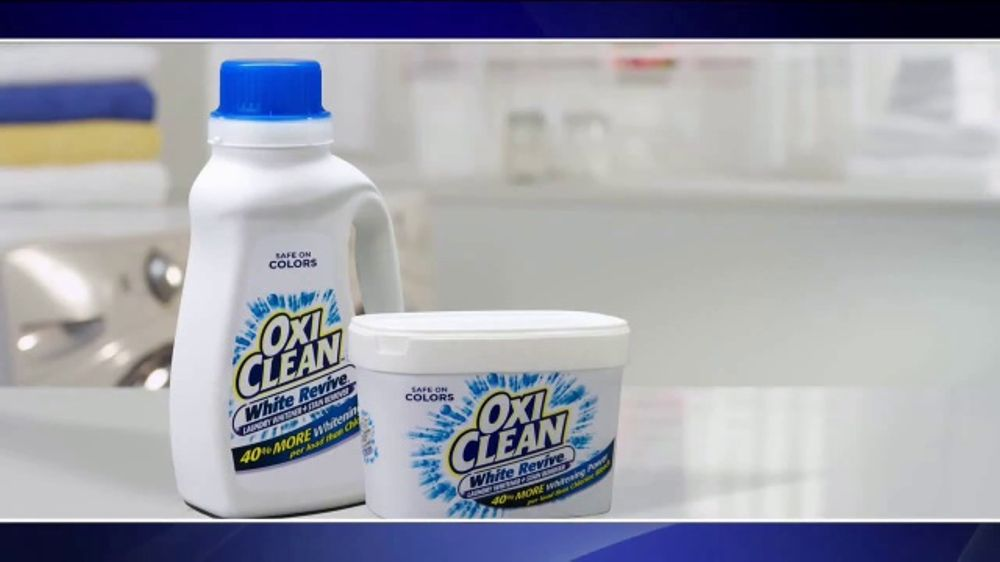 Oxiclean White Revive Tv Commercial Laundry Lab Ispot Tv