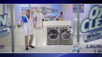 OxiClean White Revive TV Spot, 'Laundry Lab' - Thumbnail 1