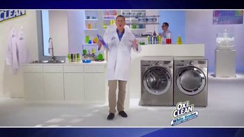 OxiClean White Revive TV Spot, 'Laundry Lab' - Thumbnail 2