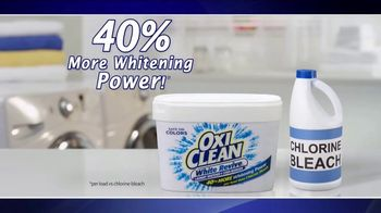 OxiClean White Revive TV Spot, 'Laundry Lab' - 2390 commercial airings