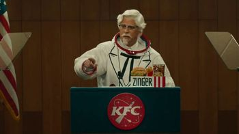 KFC Zinger Sandwich TV Spot, 'Press Conference: Zinger 1' Feat. Rob Lowe - 1065 commercial airings