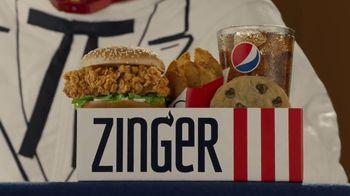 KFC Zinger Sandwich TV Spot, 'Press Conference: Zinger 1' Feat. Rob Lowe - Thumbnail 2