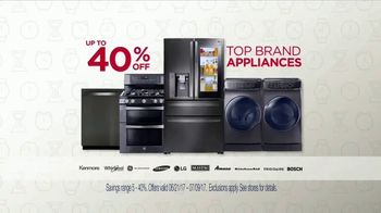 Sears 4th of July Event TV Spot, 'Home Appliance and Mattress Sets' - Thumbnail 3