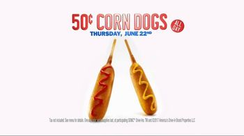 Sonic Drive-In 50-Cent Corn Dogs TV Spot, 'Corn-ival: June' - Thumbnail 8