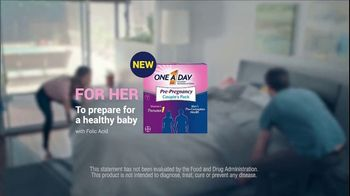 One A Day Pre-Pregnancy Couple's Pack TV Spot, 'Feng Shui' - Thumbnail 7