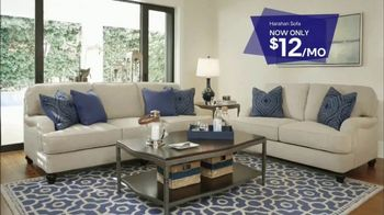 Ashley HomeStore Stars & Stripes Sale TV Spot, 'Sofa and Sleigh Bedroom' - Thumbnail 5