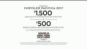 Chrysler Maneja y Descubre TV Spot, 'Hero' [Spanish] [T2] - Thumbnail 8