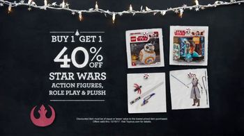 Toys R Us TV Spot, 'Almost Christmas: BOGO Star Wars and Disney' - Thumbnail 2