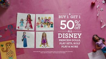 Toys R Us TV Spot, 'Almost Christmas: BOGO Star Wars and Disney' - Thumbnail 3