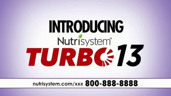 Nutrisystem Turbo 13 TV Spot, 'Take Control' Featuring Genie Francis