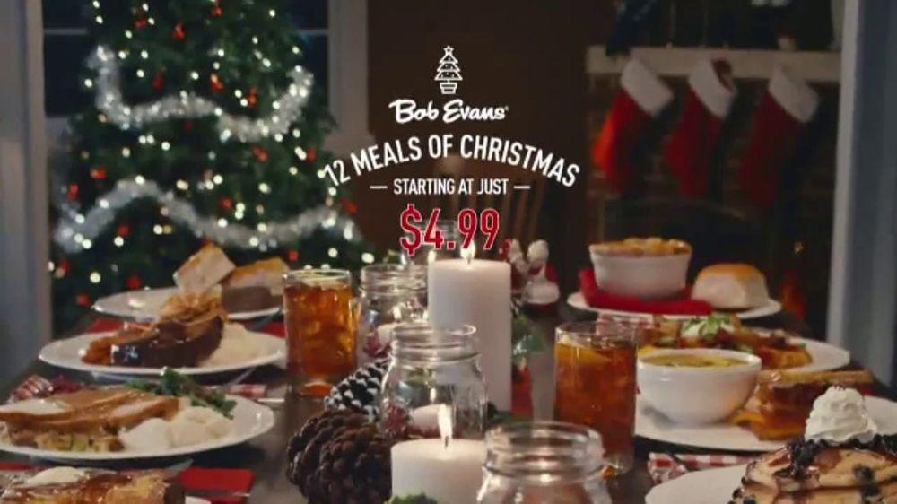 Bob evans farms tv commercial 39 12 meals of christmas - Olive garden early bird specials ...
