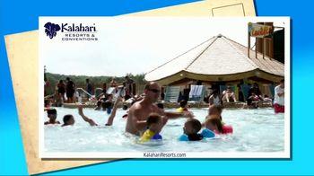 Kalahari Resort and Conventions TV Spot, 'Postcard Moment: Water Slides'
