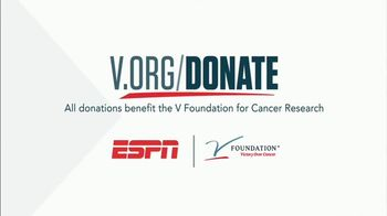 The V Foundation for Cancer Research TV Spot, 'ESPN: Jim Kelly' - Thumbnail 5