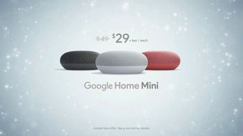 Google Home Mini TV Spot, 'Holiday Magic' - Thumbnail 9