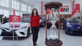 Toyota Toyotathon TV Spot, 'Hourglass: 2018 Camry'