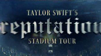 Taylor Swift's Reputation Stadium Tour TV Spot, 'CenturyLink Field'