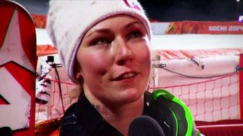 XFINITY X1 Voice Remote TV Spot, 'Olympic Channel: USA: Mikaela Shiffrin' - 1 commercial airings