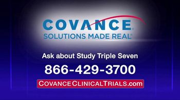 Covance Clinical Trials TV Spot, \'Study Triple Seven\'