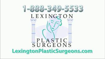 Lexington Plastic Surgeons TV Spot, 'Testimonial: SRT-100 Keloid Removal' - Thumbnail 1