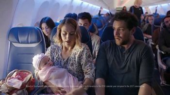 Southwest Airlines TV Spot, 'Behind Every Seat Is a Story: New Parents' - 53 commercial airings