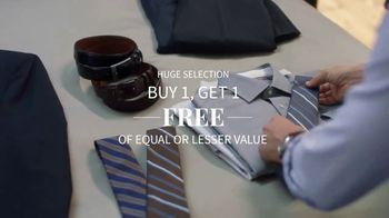 JoS. A. Bank Weekend Specials TV Spot, 'Get Ready: Buy One, Get One Free' - Thumbnail 6