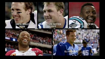 NFL Man of the Year TV Spot, 'Jersey Patches and Helmet Stickers' - 6 commercial airings