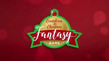 Countdown to Christmas Fantasy Game TV Spot, \'Weekly Giveaways\'