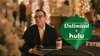 Sprint Unlimited TV Spot, 'Holiday Mall: Hulu'